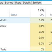 disk usage 100 percent
