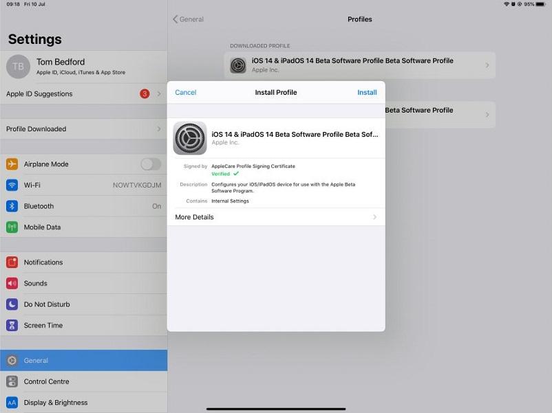 11T7Pr6Mt7S58nhHxToCRrXD - Как установить бета-версию iPadOS 14 на свой iPad