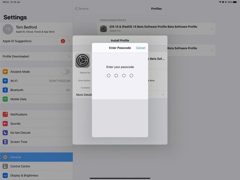 22Dner6RPfettbyLTFirH - Как установить бета-версию iPadOS 14 на свой iPad