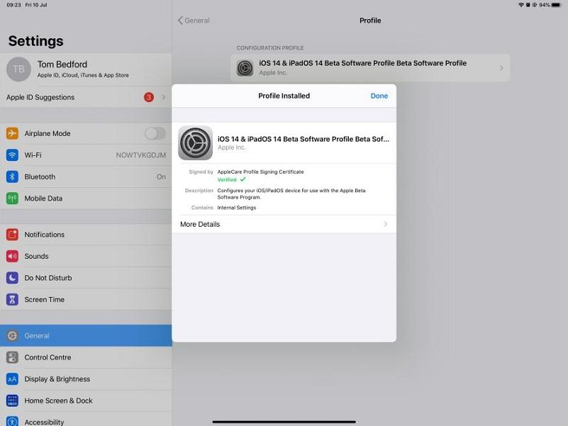 55SadbaWPKRKj8rTnTe - Как установить бета-версию iPadOS 14 на свой iPad