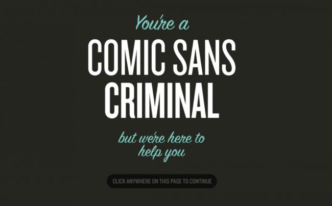 Screenshot 2021 01 06 at 9.15.32 AM e16099463836531 - Происхождение Comic Sans: почему так много людей его ненавидят?