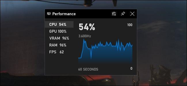 game bar performance1 - На компьютерах с Windows 10 по умолчанию включен «Игровой режим». Зачем он нужен?
