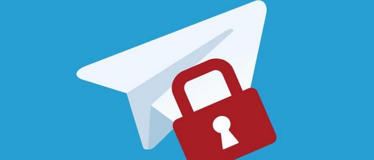 Telegram lock