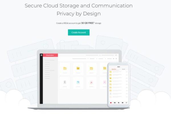 Mega cloud drive