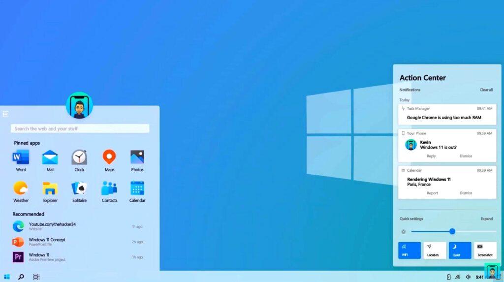 windows 11 data vyhoda 2 1024x573 - Дата выпуска Windows 11, функции и все, что вам нужно знать