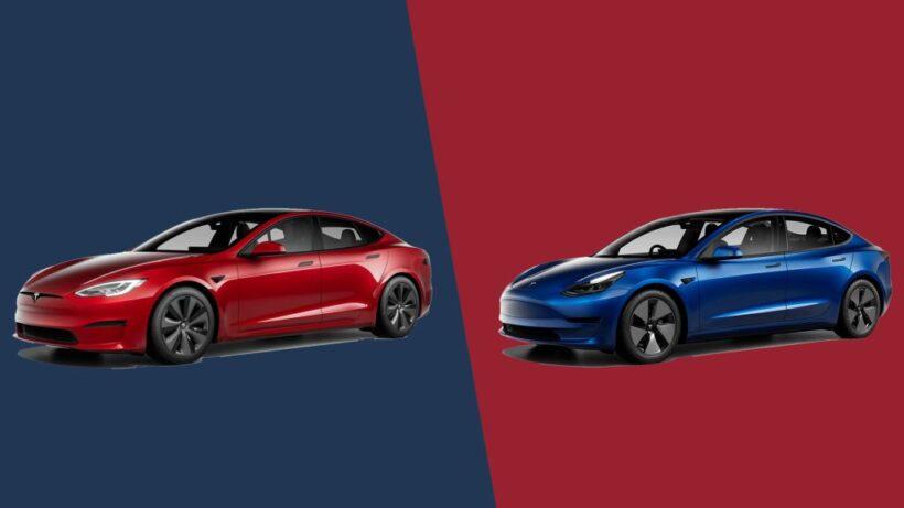 Tesla Model S против Tesla Model 3