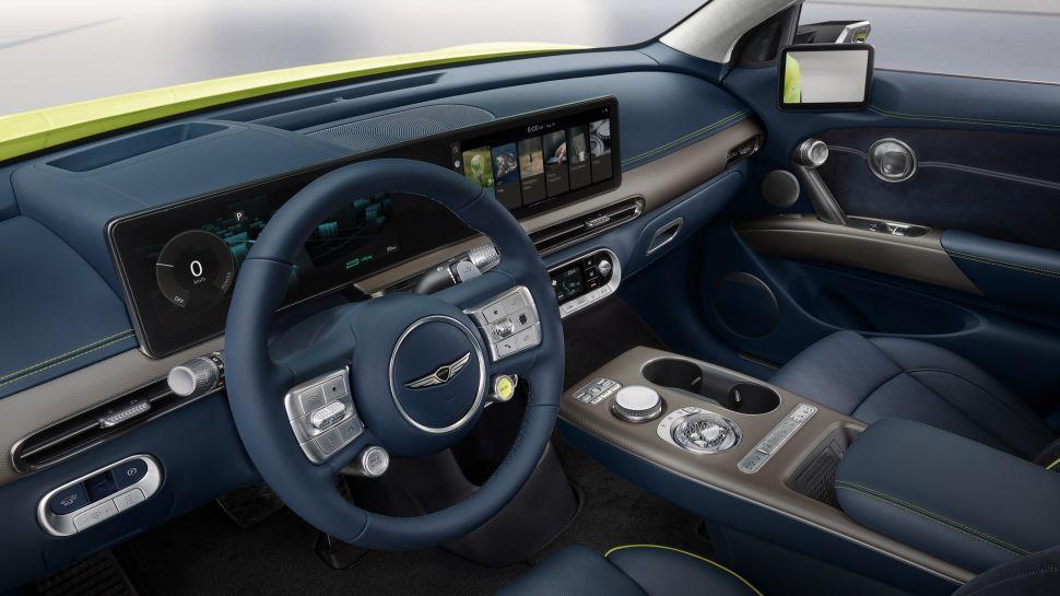 VnCjNbSLFK6W9pWYbspRST 970 801 - Genesis представляет GV60 - практичный электромобиль с интерьером в стиле Bentley