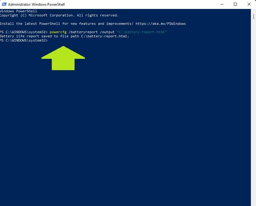 Laptop Battery Health Windows 11 31 - Как проверить состояние батареи ноутбука в Windows 11