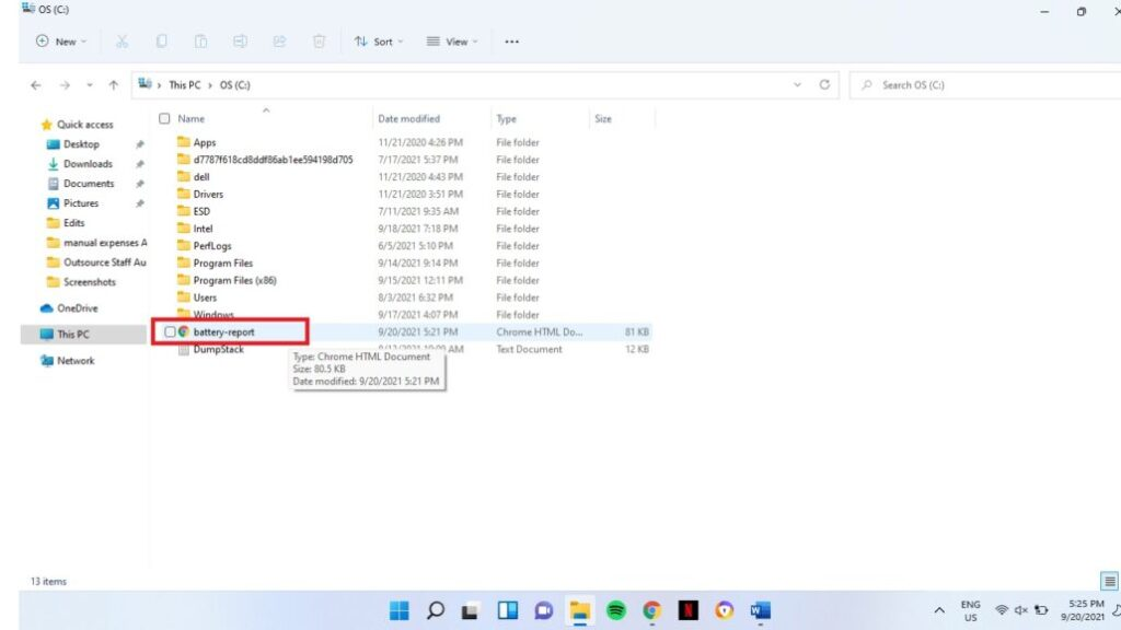 Laptop Battery Health Windows 11 7 1030x5791 1 1024x576 - Как проверить состояние батареи ноутбука в Windows 11