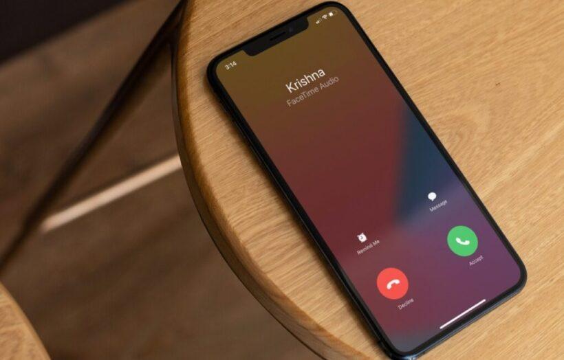 Входящий вызов iPhone
